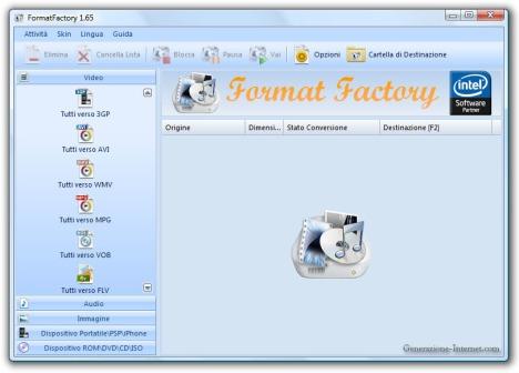01_format_factory_schermata_principale